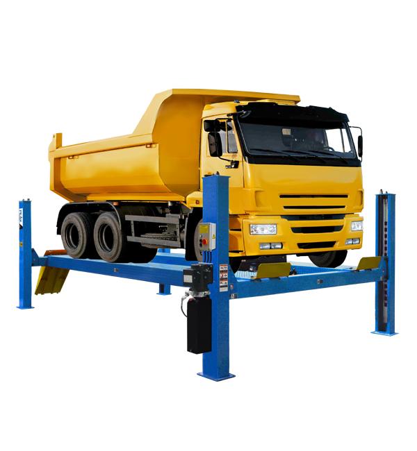 FOUR POST HEAVY-DUTY TRUCK LIF...